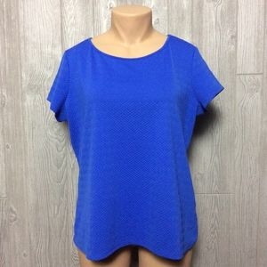 Blue Top PLUS SIZE 2X